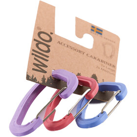 Wildo Accessory Carabiner Set de Tres 2xM 1xL, fashion